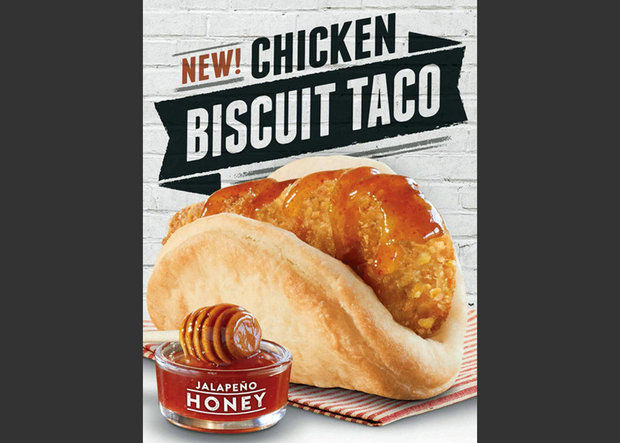 Taco Bells Biscuit Taco Is Born