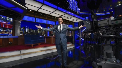 Colbert Says Late Show Gig is 'everything I want'