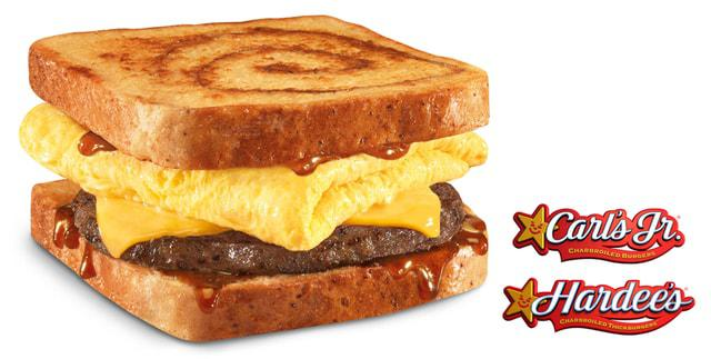 Carl's Jr. / Hardee's Unveil New French Toast Breakfast Sandwich