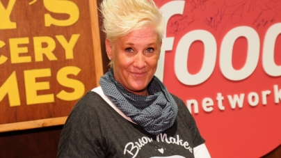 Anne Burrell Throws a Hissy Fit on Chopped All-Stars