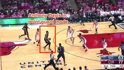 Why the NBA Should Be Terrified of Anthony Davis