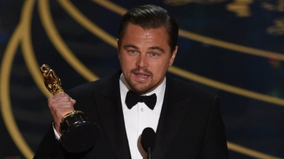 Leonardo DiCaprio Wins Best Actor For 'The Revenant'