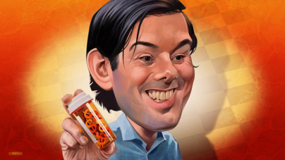Shkreli Displays a National View of Congress