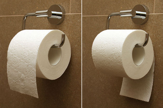Toilet Paper Patent, Here's The Correct Way To Use A Roll