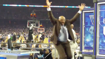 VIDEO: Charles Barkley was fired up at Kris Jenkins' game-winner