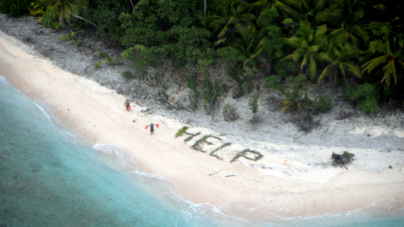 Men Rescued from Remote Pacific Island