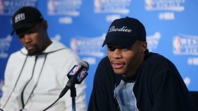 Report: Russell Westbrook 'pissed' about Kevin Durant Leaving