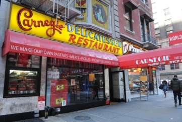 Carnegie Deli Will Close at End of 2016