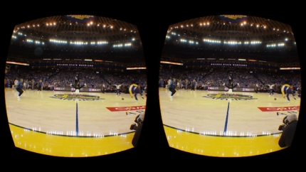 Welcome to the Future: NBA Will Stream One Game a Week in Virtual Reality