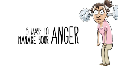 Five Ways to Manage Your Anger