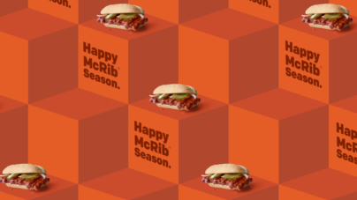 McRib Wrapping Paper Is The Best Thing To Happen This Holiday Season