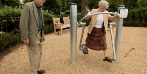 Playgrounds For Senior Citizens Are Becoming Popular In The U.S.