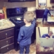 People Are Applauding This Mom For Teaching Her Son About Household Chores